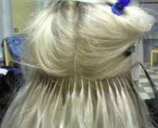 Наращивание волос американское