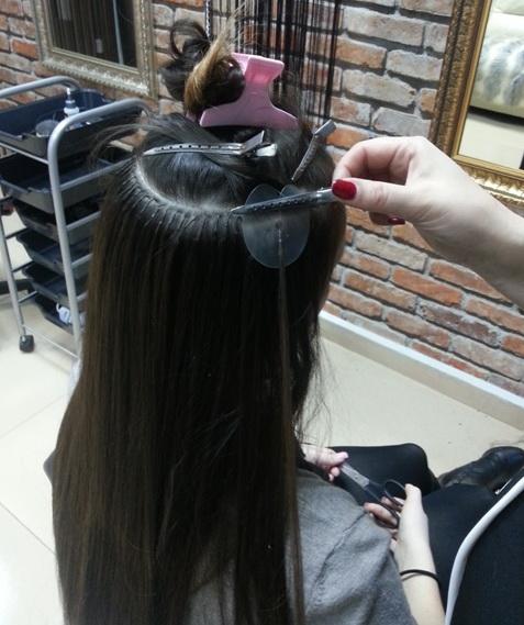 Голливудское наращивание волос в москве цена
