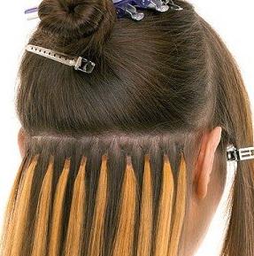 Капсульное наращивание волос холодное