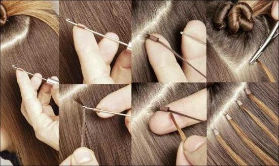 Наращивание волос холодное обучение