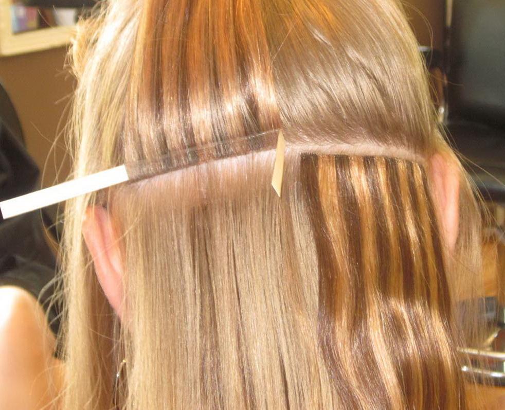 Способы наращивание волос