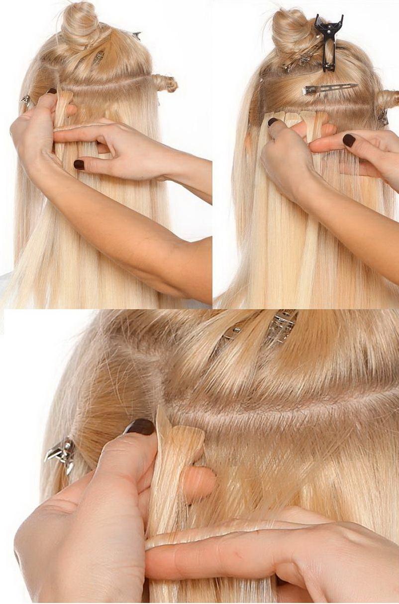 Волосы насадить на ленты возможно? - Наращивание волос - Я 77