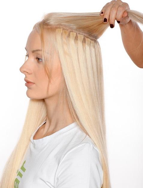 Волосы насадить на ленты возможно? - Наращивание волос - Я 20