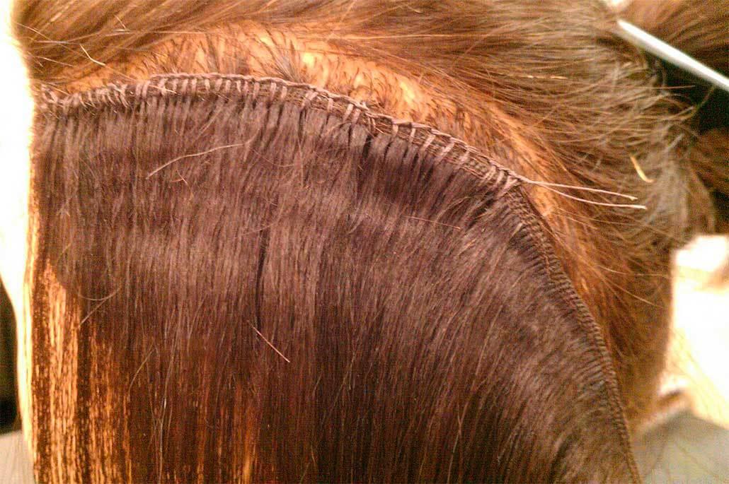 Для наращивания волос трессы