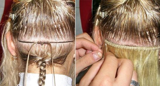 Голливудское наращивание волос новосибирск