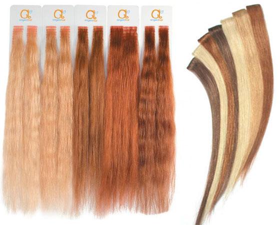 Волосы для наращивания ленточного